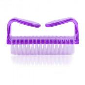 Щеточка для удаления пыли YRE утюжок фиолетовая