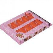 Колпачки для снятия гель-лака оранжевые