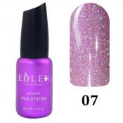 Светоотражающий гель-лак Edlen Flash Fire 007 розовый 9 мл