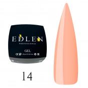 Гель для наращивания Edlen 14 персик (15 мл)
