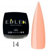 Гель для наращивания Edlen 14 персик (30 мл)