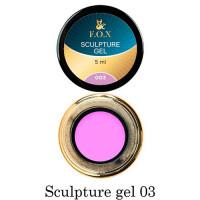 3D-гель для лепки F.O.X 003 фиолетовый 5 мл