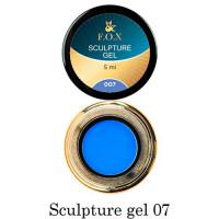 3D-гель для лепки F.O.X 007 синий 5 мл
