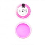Акриловая пудра F.O.X 001 светло-розовая 3 мл