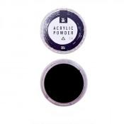 Акриловая пудра F.O.X 004 чёрная 3 мл