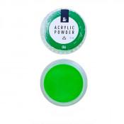 Акриловая пудра F.O.X 006 зелёная 3 мл