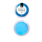 Акриловая пудра F.O.X 010 голубая 3 мл