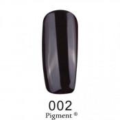 Гель-лак Фокс 002 черный (F.O.X Pigment) 6 мл