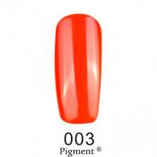 Гель-лак Фокс 003 яркий оранжевый (F.O.X Pigment) 6 мл