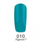 Гель-лак Фокс 010 морской зеленый (F.O.X Pigment) 6 мл