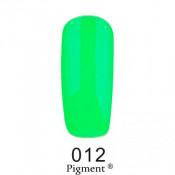 Гель-лак Фокс 012 кислотный салатовый (F.O.X Pigment) 6 мл
