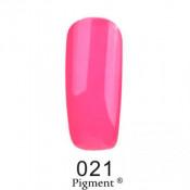 Гель-лак Фокс 021 кислотный кукольно-розовый (F.O.X Pigment) 6 мл