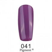 Гель-лак Фокс 041 фиолетово-серый (F.O.X Pigment) 6 мл
