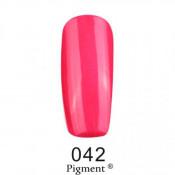 Гель-лак Фокс 042 малиново-розовый перламутровый (F.O.X Pigment) 6 мл