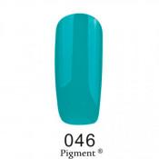 Гель-лак Фокс 046 бирюзово-зеленый (F.O.X Pigment) 6 мл