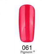 Гель-лак Фокс 061 красно-малиновый (F.O.X Pigment) 6 мл