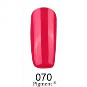 Гель-лак Фокс 070 вишневый (F.O.X Pigment) 6 мл