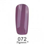 Гель-лак Фокс 072 лилово-серый (F.O.X Pigment) 6 мл