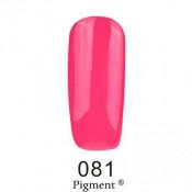 Гель-лак Фокс 081 яркий розово-малиновый (F.O.X Pigment) 6 мл