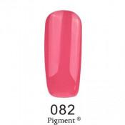 Гель-лак Фокс 082 карминово-розовый (F.O.X Pigment) 6 мл