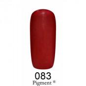Гель-лак Фокс 083 очень темный вишневый (F.O.X Pigment) 6 мл