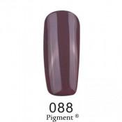 Гель-лак Фокс 088 серо-коричневый (F.O.X Pigment) 6 мл