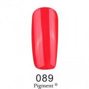 Гель-лак Фокс 089 красный (F.O.X Pigment) 6 мл