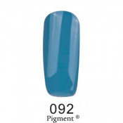 Гель-лак Фокс 092 серо-голубой (F.O.X Pigment) 6 мл