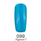 Гель-лак Фокс 099 сине-голубой (F.O.X Pigment) 6 мл