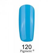 Гель-лак Фокс 120 прованский синий (F.O.X Pigment) 6 мл
