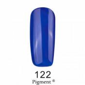 Гель-лак Фокс 122 сапфировый синий (F.O.X Pigment) 6 мл