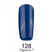 Гель-лак Фокс 128 темные джинсы (F.O.X Pigment) 6 мл