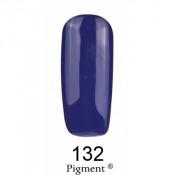 Гель-лак Фокс 132 темный чернично-синий (F.O.X Pigment) 6 мл