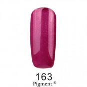 Гель-лак Фокс 163 фиолетово-малиновый с микроблеском (F.O.X Pigment) 6 мл