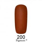 Гель-лак Фокс 200 имбирно-коричневый (F.O.X Pigment) 6 мл
