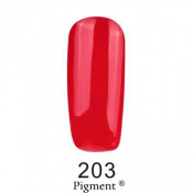 Гель-лак Фокс 203 алый (F.O.X Pigment) 6 мл