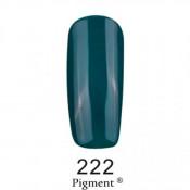 Гель-лак Фокс 222 темно-изумрудный (F.O.X Pigment) 6 мл