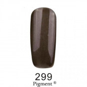 Гель-лак Фокс 299 черный с микроблеском (F.O.X Pigment) 6 мл