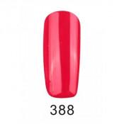 Гель-лак Фокс 388 темно-красный (F.O.X Pigment) 6 мл