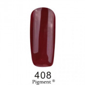 Гель-лак Фокс 408 шоколадно-вишневый (F.O.X Pigment) 6 мл