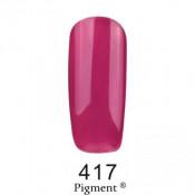 Гель-лак Фокс 417 виноградный (F.O.X Pigment) 6 мл