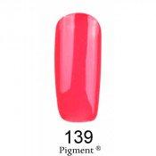 Гель-лак Фокс 139 неоновый розово-коралловый (F.O.X Pigment) 6 мл