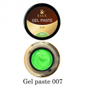 Гель-паста F.O.X. 07 зеленая, 5 мл