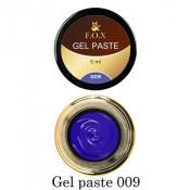 Гель-паста F.O.X. 09 синяя, 5 мл