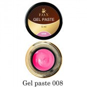 Гель-паста F.O.X. 08 ярко-розовая, 5 мл