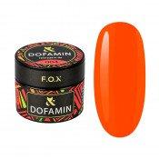 Неоновая база F.O.X Dofamin 004 морковно-алый неоновый 10 мл