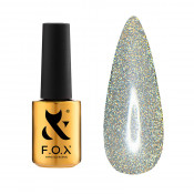 Топ F.O.X Top Flash Opal 5 мл без липкого слоя светоотражающий