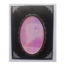 Фольга битое стекло 1 для дизайна ногтей нежно-розовая