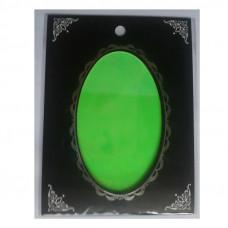 Зелёная фольга битое стекло 4 для дизайна ногтей