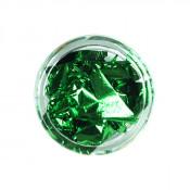 Фольга для декора сусальное золото зеленая 02